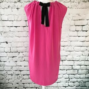 RACHEL Rachel Roy Shift Dress with Self Bow Size 6